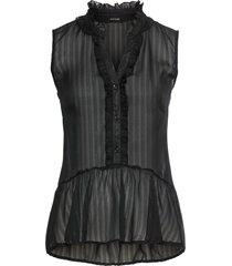 camicetta con lurex (nero) - bodyflirt