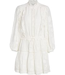adel blouson peasant dress
