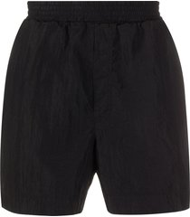 1017 alyx 9sm straight-leg shorts - black