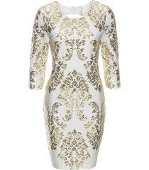 abito con paillettes (bianco) - bodyflirt boutique