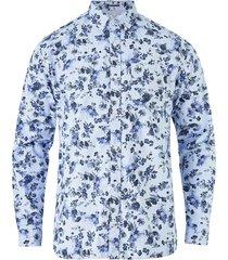 skjorta jprclassic oxford print shirt slim