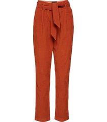noel pants pantalon met rechte pijpen oranje birgitte herskind
