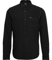 lee button down skjorta casual svart lee jeans