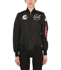 alpha industries reversible ma1 tt nasa jacket