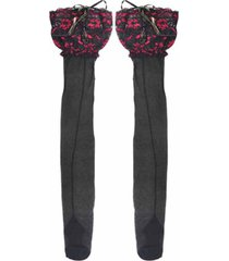 la altura de la rodilla calcetines calcetines core-spun medias ultra-delgada media pierna pantorrilla calcetines