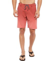 bermuda rip curl rojo - calce regular