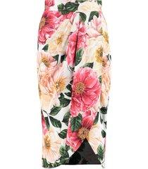 dolce & gabbana draped skirt