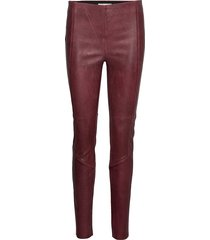 my mittygritty pant leather leggings/broek rood odd molly