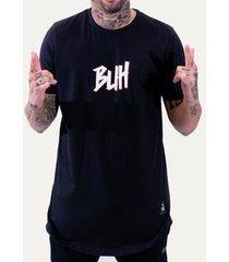 camiseta masculina buh strass logo - masculino