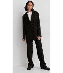 matiamu by sofia x na-kd oversize blazer - black