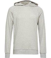 l/s hoodie hoodie trui grijs calvin klein