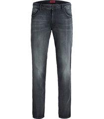 jack & jones plus size jeans grijs slim fit