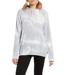 women's volcom li'l hoodie, size medium - grey