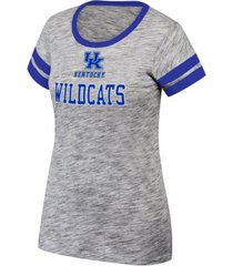 top of the world women's kentucky wildcats tiebreaker ringer t-shirt