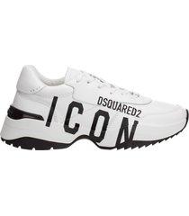 scarpe sneakers uomo in pelle d24 icon