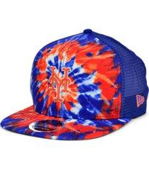 new era new york mets tie dye mesh back 9fifty cap