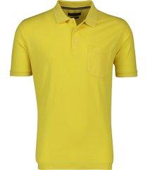 geel poloshirt casa moda