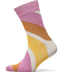 slfvida sock b lingerie socks regular socks rosa selected femme