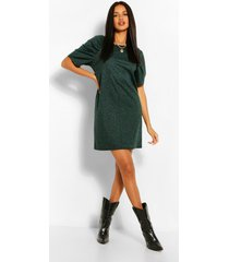 animal jaquard shift dress, khaki
