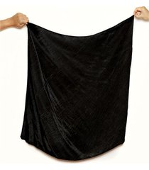 pañuelo negro nuevas historias plisado