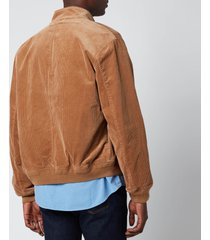 polo ralph lauren men's stretch corduroy jacket - rustic tan - xxl
