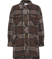 freja shirt overshirts bruin lovechild 1979