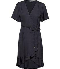 line dress dresses wrap dresses blå morris lady