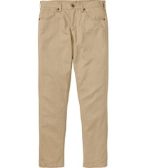 pantaloni 5 tasche regular fit straight (beige) - bpc bonprix collection
