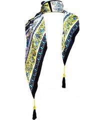 pañuelo lana nueva delhi azul viva felicia