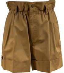 moncler high elastic waist shorts