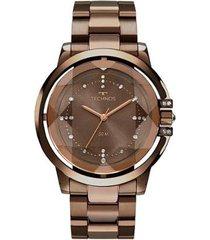 relógio technos elegance crystal 2036mlm/4m feminino