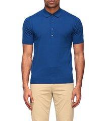 paolo pecora polo shirt paolo pecora short-sleeved cotton polo shirt