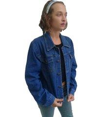 jaqueta bazz jeans azul