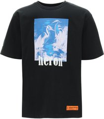 heron preston oversized t-shirt heron print