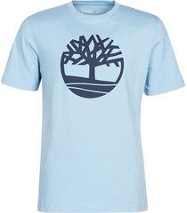t-shirt korte mouw timberland ss kennebec river brand tree tee