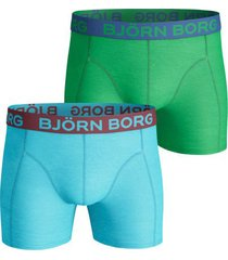 bjorn borg boxers 2-pak solid bachelor button