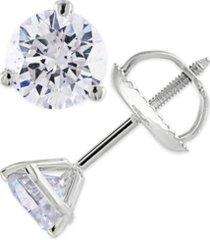 certified 1/3 ct. t.w. diamond stud earrings in 14k white or yellow gold