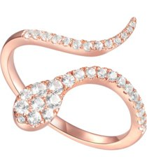 3/8 ct. t.w. round shape diamond ring in 14k rose gold