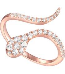 3/8 ct. t.w. round shape diamond ring in 14k rose gold