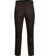 slhslim-myloiver camel mel trs b noos kostuumbroek formele broek bruin selected homme