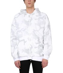dolce & gabbana jacket with camouflage print