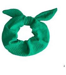 scrunchie banana rosa scrunchie de cabelo verde