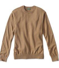 cotton/silk/cashmere crewneck sweater