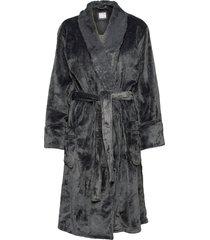 bathrobe morgonrock svart pj salvage