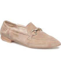 jasmin buckle_ loafers låga skor beige pavement