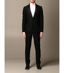 z zegna suit 1 button smoking rever shawl in sable wool 260gr pant 18cm