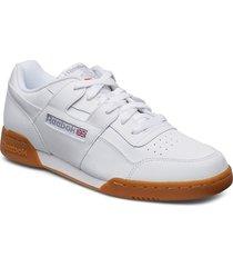 workout plus låga sneakers vit reebok classics