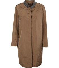 fabiana filippi mid-length concealed coat