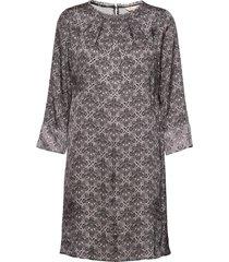 harper dress kort klänning grå odd molly