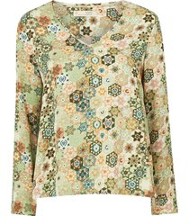 blus molly hooked blouse